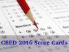 CEED 2016: Score Cards Released, Download Now!