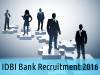 IDBI Bank Job Openings for Chief Customer Service Officer Post 2016