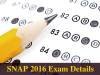 SNAP 2016: Register Before November 22, Check Details Here!