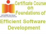 Certificate Course On Software Development By Iith