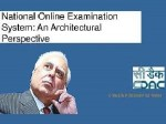 Sibal Launches National Online Examination System