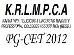 Krlmpca Conducts Pgcet 2012 Entrance On Feb
