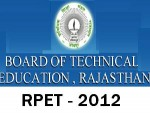 Rajasthan Pre Engineering Test 2012 On May
