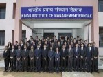 Iim Rohtak Celebrates Its First Year Convocation Day