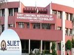 Sliet 2012 Entrance Test On June 02 And