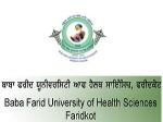 Bfuhs Faridkot Opens B Pharm And M Pharm Admission