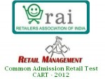 Cart 2012 An Entrance Test For Pgp In Retail Management