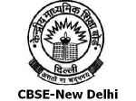 Cbse Secondary School Time Table For March