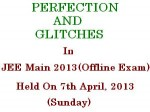 Jee Main2013 Held With Perfection Glitches Across India