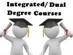 List Integrated Dual Degree Course Offered By Iits