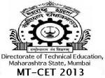 Maharashtra Mt Cet 2013 Results On 5 June
