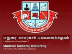 Madurai Kamaraj University Applications Admissions