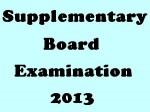 Tamil Nadu Sslc Supplementary Exam 2013 Time Table