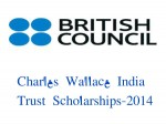 Charles Wallace India Trust Scholarships