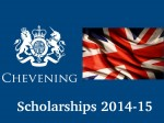 Applications Invited Chevening India Scholarship 2014 15 Apply Now