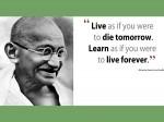 Mohandas Karamchand Gandhijis Walk Of Education And Life