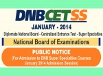 Nat Board To Conduct Dnb Cet Ss 2014 For Super Specialties Courses