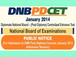 Nat Board To Conduct Dnb Pd Cet 2014 For Post Diploma Course Admission