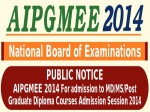 Nbe To Conduct Aipgmee 2014 For Admission To Md Ms Pg Diploma Courses