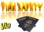 Passports Protect Us Students Studying Abroad From Fire