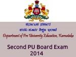 Karnataka Second Pu Board Exam 2014 Final Timetable Announced