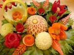 Online Course In Fruits And Vegetables Carving