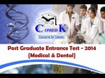 Comedk Opens Pg Medical Entrance Exam Pget 2014 Online Registration