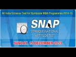 Symbiosis National Aptitude Test Snap 2013 Pattern Structure