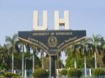 University Hyderabad Offers M Tech M Phil Ph D Admission