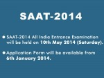 Soa University Conducts Saat 2014 Ug Pg Courses Admissions