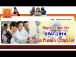 Aicte Conduct Gpat 2014 Entrance Exam February