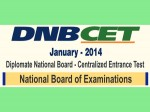 Nbe Announce Dnb Cet 2014 Results January
