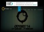 Iiit D Declares Odyssey 14 Cultural Fest Find Details Here