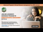 Iim Lucknow Opens Advanced Program Human Resource Management