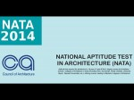 Nata 2014 Online Application Form Will Be Available From 21st February