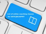 Gate List Of Online Coaching Classes