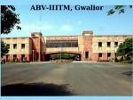 Abv Iiitm Gwalior Opens Mba Admissions
