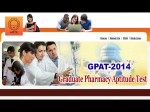 Gpat 2014 Results Declared India Merit List