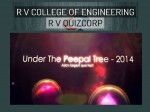 Rv College Concludes The Game Of Quiz Under The Peepal Tree