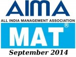 Aima Mat September 2014 Online Registration