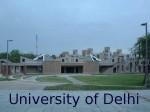 College Of Vocational Studies Du Issues Cutoffs Begin Admissions
