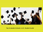 Graduate Study In The Us Guide For Students