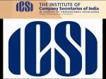 Icsi Company Secretaries Exam June 2014 Results On Aug