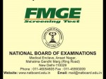 Nbe Announces Online Registration Dates For Fmge Screening Test