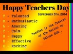 Happy Teachers Day Quotes And Wishes