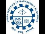 Iim Kozhikode Offers Admissions To Executive Postgraduate Programmes