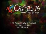 Annual Cultural Festival Of Bits Pilani Oasis