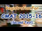 Cmat Online Registration Procedure