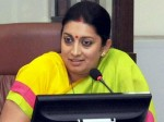 Hrd Minister Irani Lays Foundation 7 Schools New Delhi