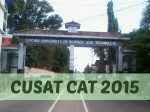 Cusat Cat Time Table